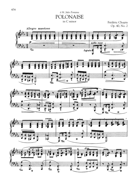 Polonaise in C minor, Op. 40, No. 2