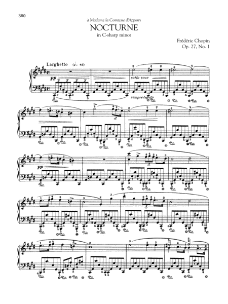 Nocturne in C-sharp minor, Op. 27, No. 1