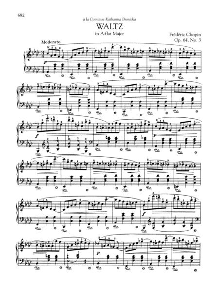 Waltz in A-flat Major, Op 64, No. 3