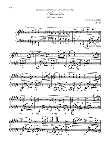 Prélude in C-sharp minor, Op. 45