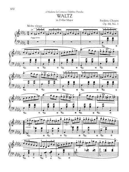Waltz in D-flat Major, Op. 64, No. 1