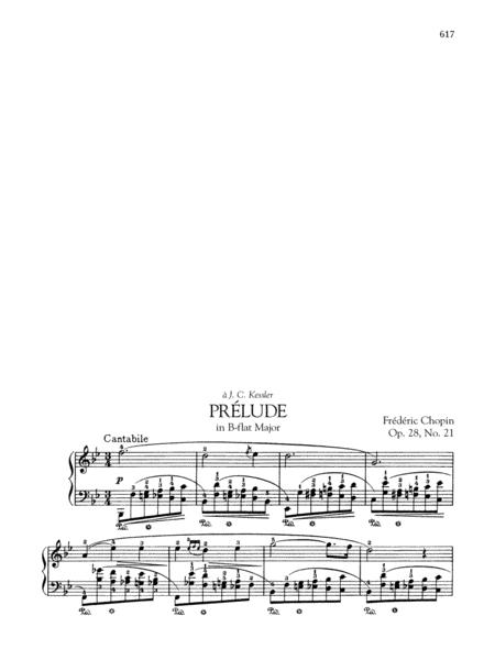 Prélude in B-flat Major, Op. 28, No. 21