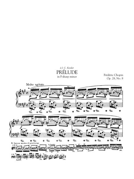 Prélude in F-sharp minor, Op. 28, No. 8