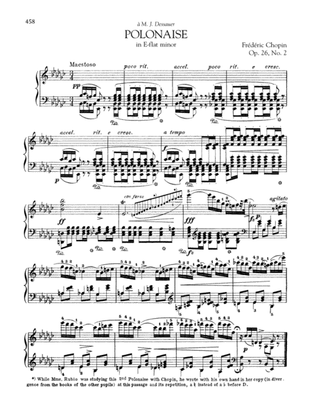 Polonaise in E-flat minor, Op. 26, No. 2