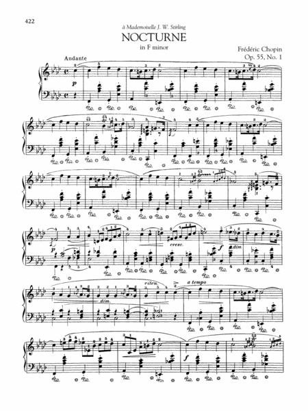 Nocturne in F minor, Op. 55, No. 1