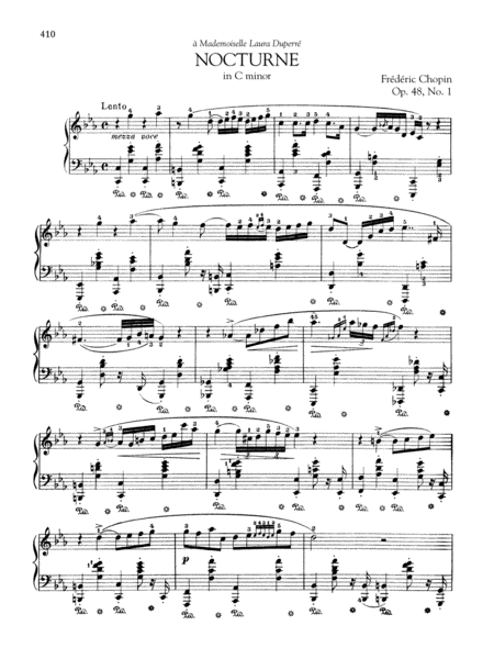Nocturne in C minor, Op. 48, No. 1