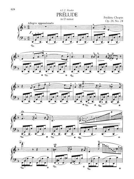 Prélude in D minor, Op. 28, No. 24