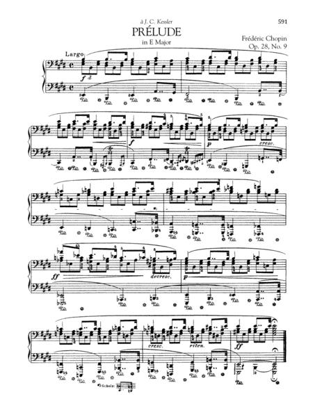 Prélude in E Major, Op. 28, No. 9