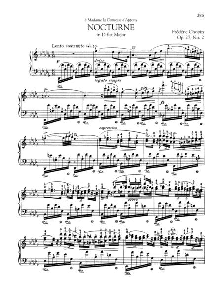 Nocturne in D-flat Major, Op. 27, No. 2