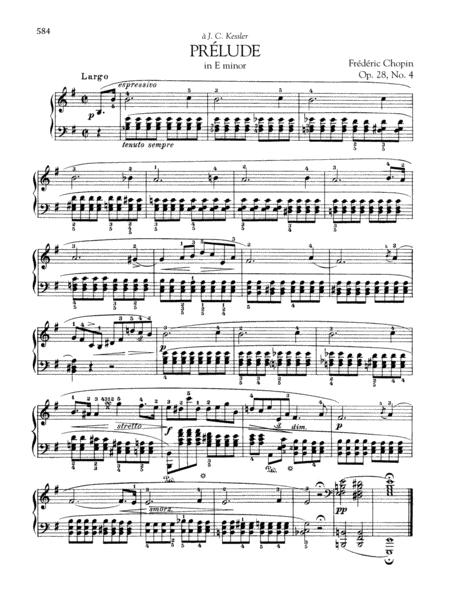Prelude In E Minor, Op. 28, No. 4