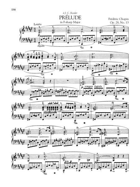 Prélude in F-sharp Major, Op. 28, No. 13