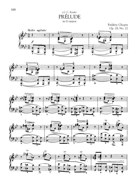 Prelude in G minor, Op. 28, No. 22