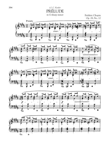 Prelude in G-sharp minor, Op. 28, No. 12