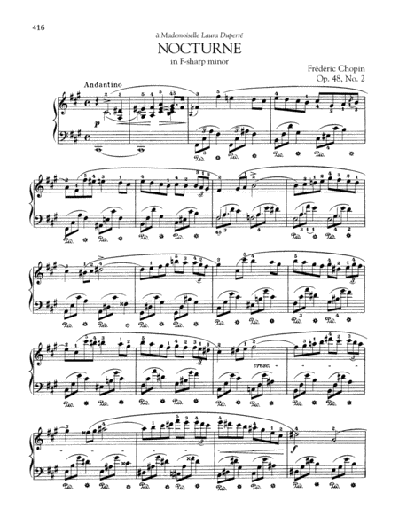 Nocturne in F-sharp minor, Op. 48, No. 2