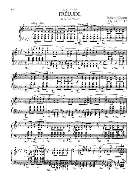 Prélude in A-flat Major, Op. 28, No. 17