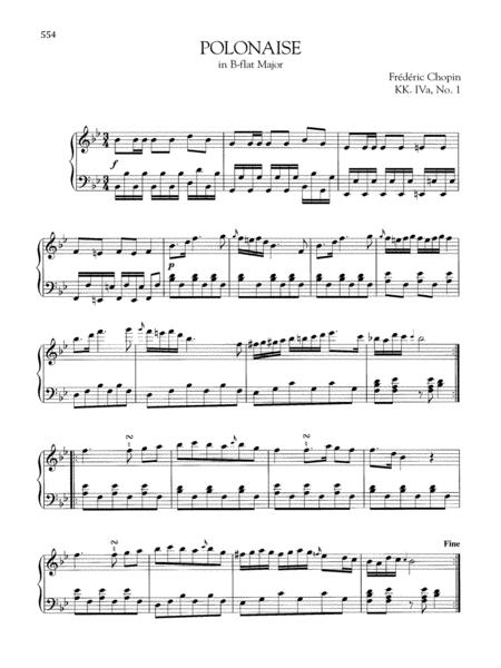 Polonaise in B-flat Major, KK. IVa, No. 1