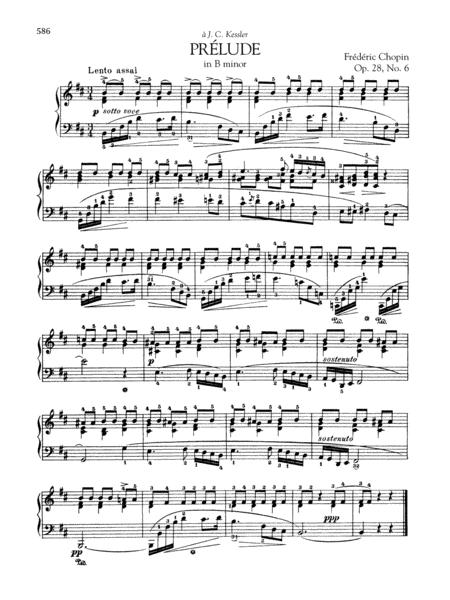 Prelude in B minor, Op. 28, No. 6