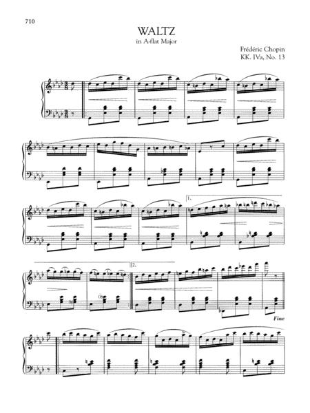 Waltz in A-flat Major, KK. IVa, No. 13