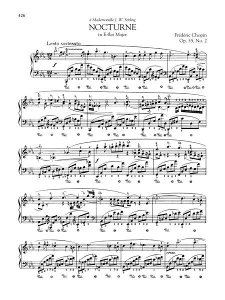 Nocturne in E-flat Major, Op. 55, No. 2