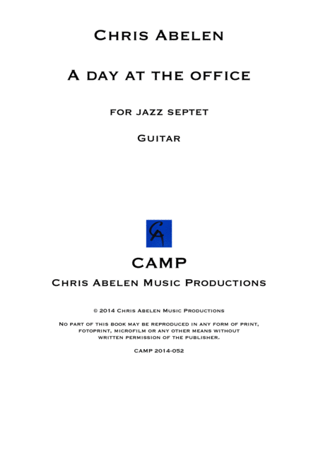 A day at the office - Guitar