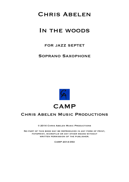 In the woods - Soprano Saxophone