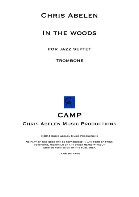 In the woods - Trombone