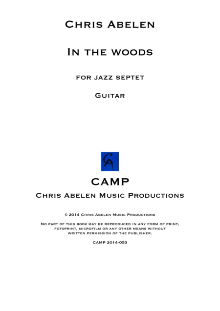 In the woods - Guitar