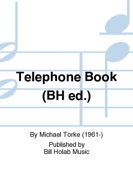 Telephone Book (BH ed.)