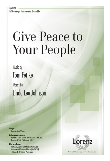 Give Peace to Your People