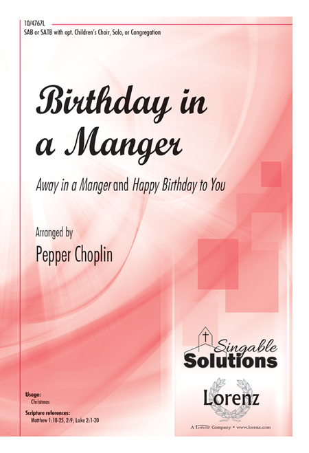 Birthday in a Manger