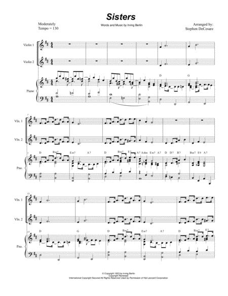 Sisters (String Quartet)