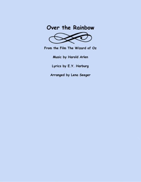 Over the Rainbow (two violins and cello)
