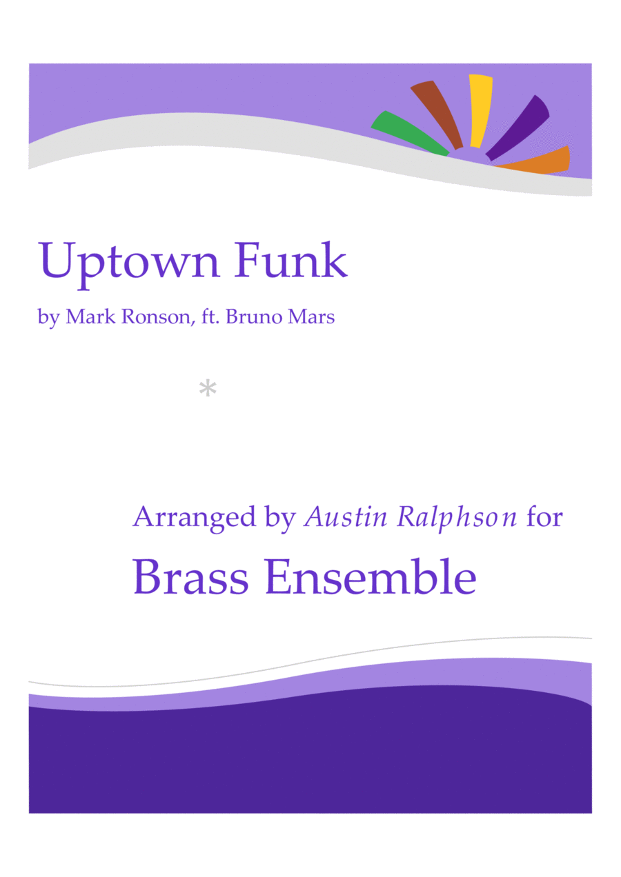 Uptown Funk - brass ensemble