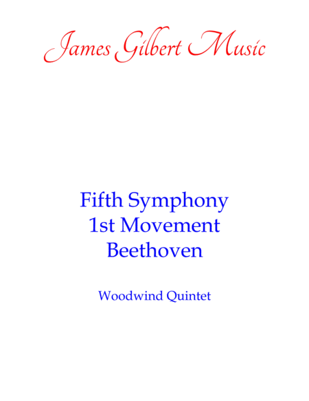 Beethoven's Fifth Symphony, 1st Movement