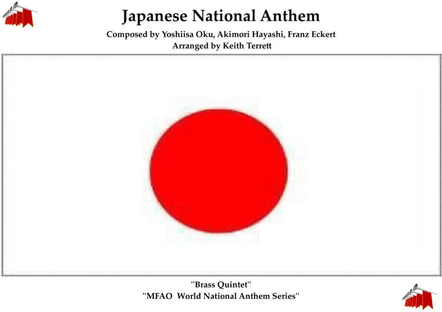 Japanese National Anthem for Brass Quintet (