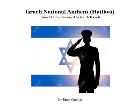 Israeli National Anthem for Brass Quintet (