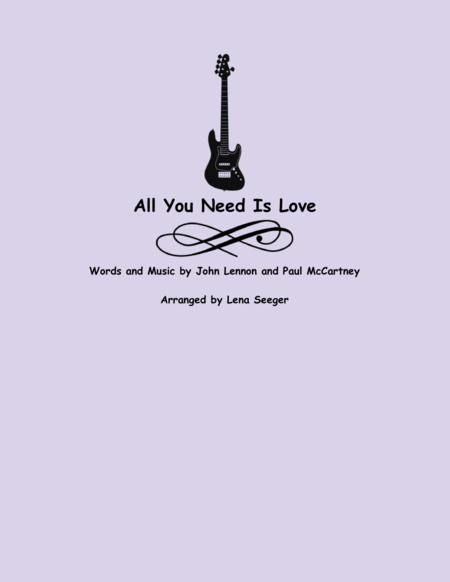 All You Need is Love (String Orchestra)