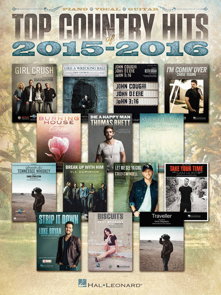 Top Country Hits of 2015-2016