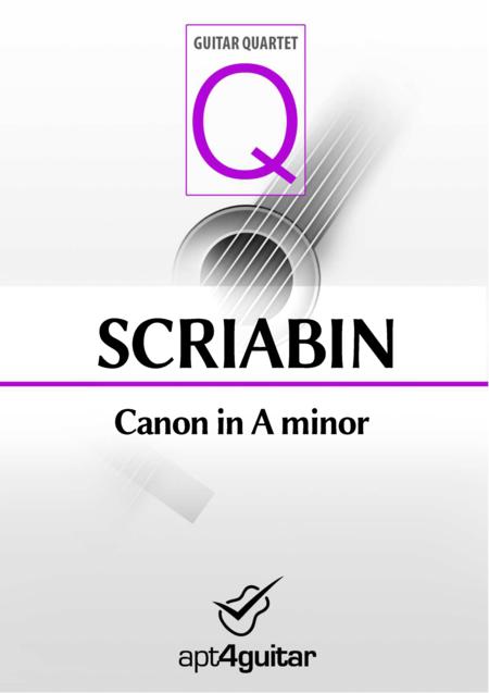 Canon in A minor