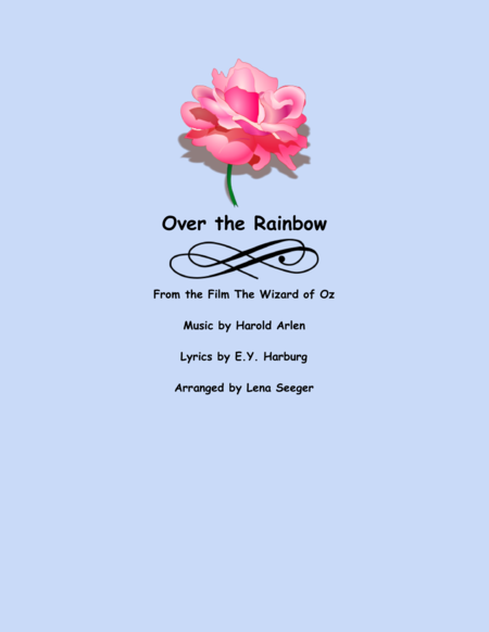 Over the Rainbow (Clarinet and Piano)