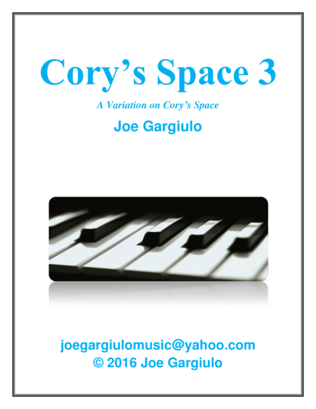 Cory's Space 3