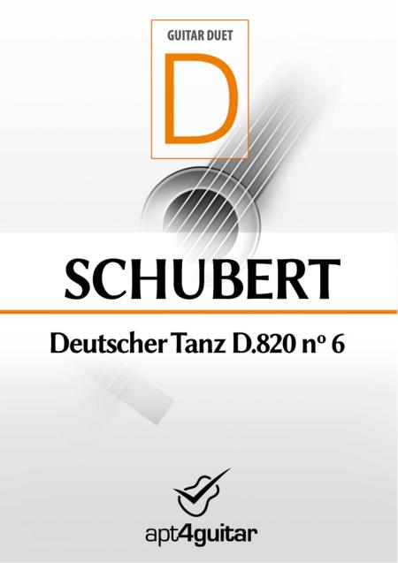Deutscher Tanz D.820 nº 6