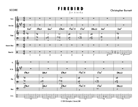 Firebird, BMI Work #17075594 (Full Score)