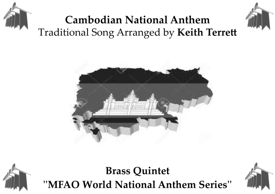 Cambodian National Anthem (Nokoreach) for Brass Quintet
