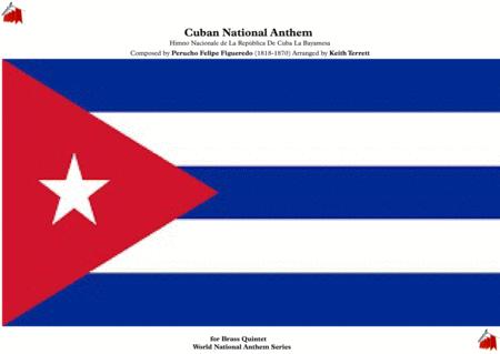 Cuban National Anthem (Himno Nacionale de La Repùblica De Cuba La Bayamesa) for Brass Quintet