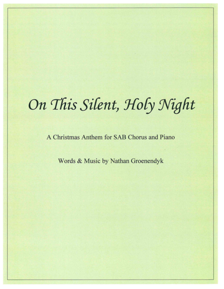 On This Silent, Holy Night