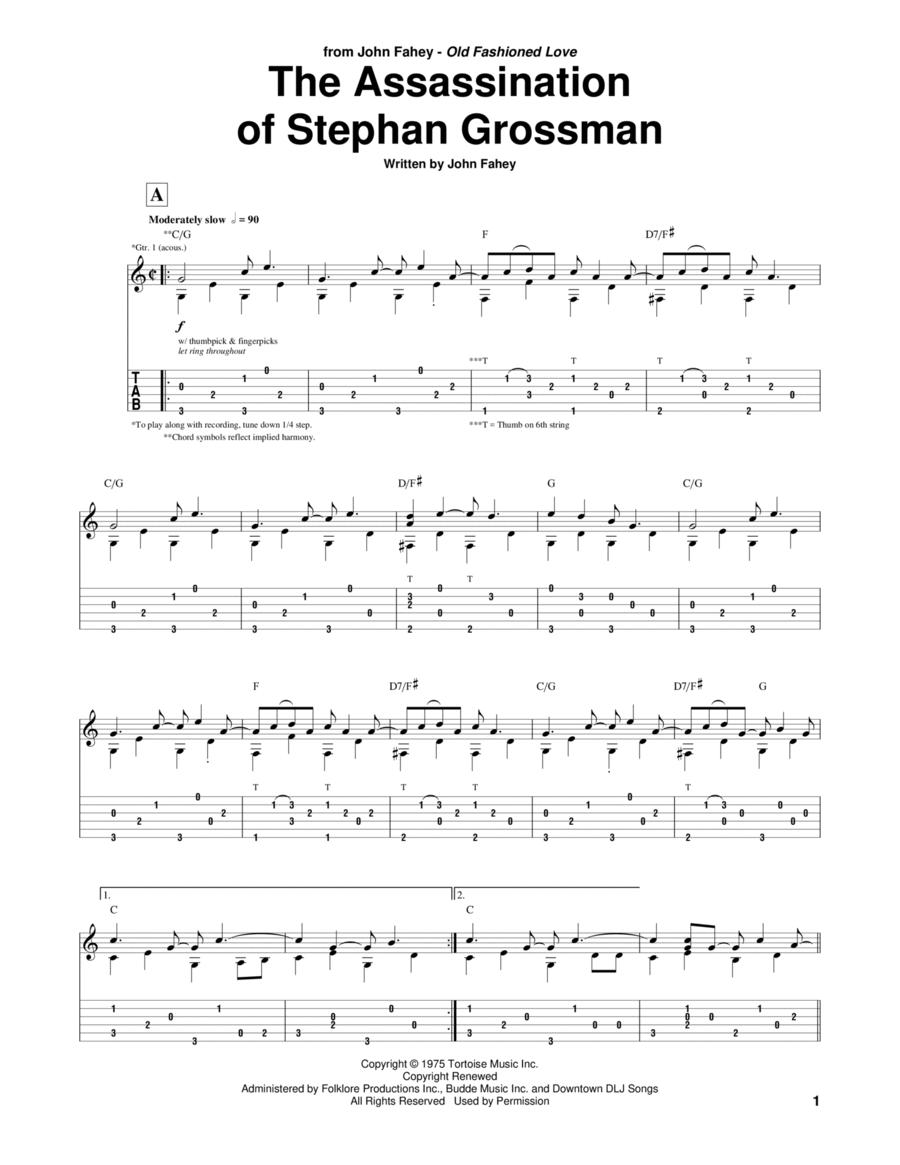 Assassination Of Stephan Grossman