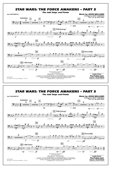 Star Wars: The Force Awakens - Part 3 - 2nd Trombone