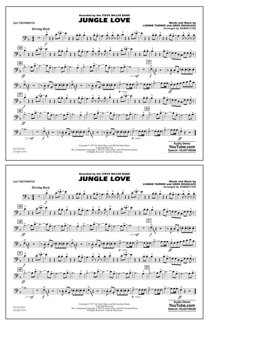 Jungle Love - 2nd Trombone