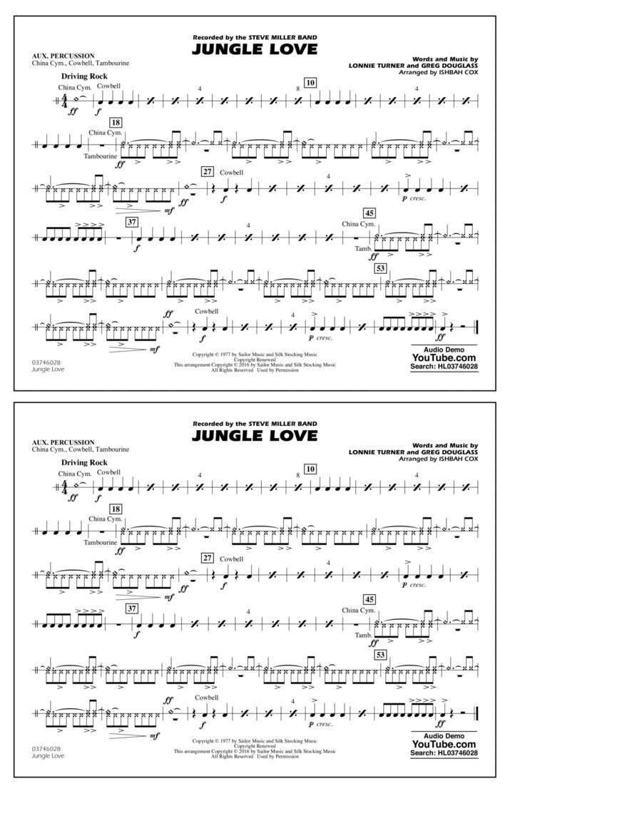 Jungle Love - Aux Percussion